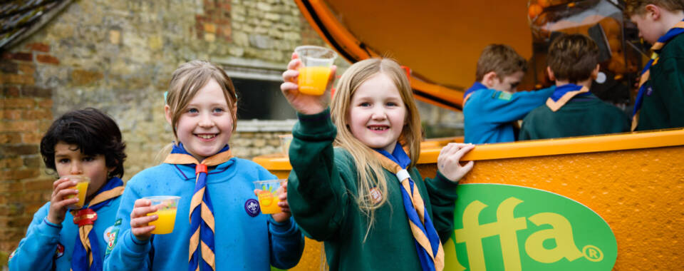 Jaffa and Scouts partnership